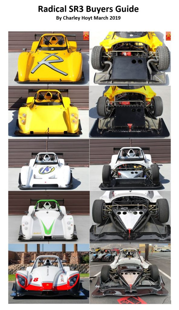 Radical SR3 Buyers Guide – Radical Sportscar Registry