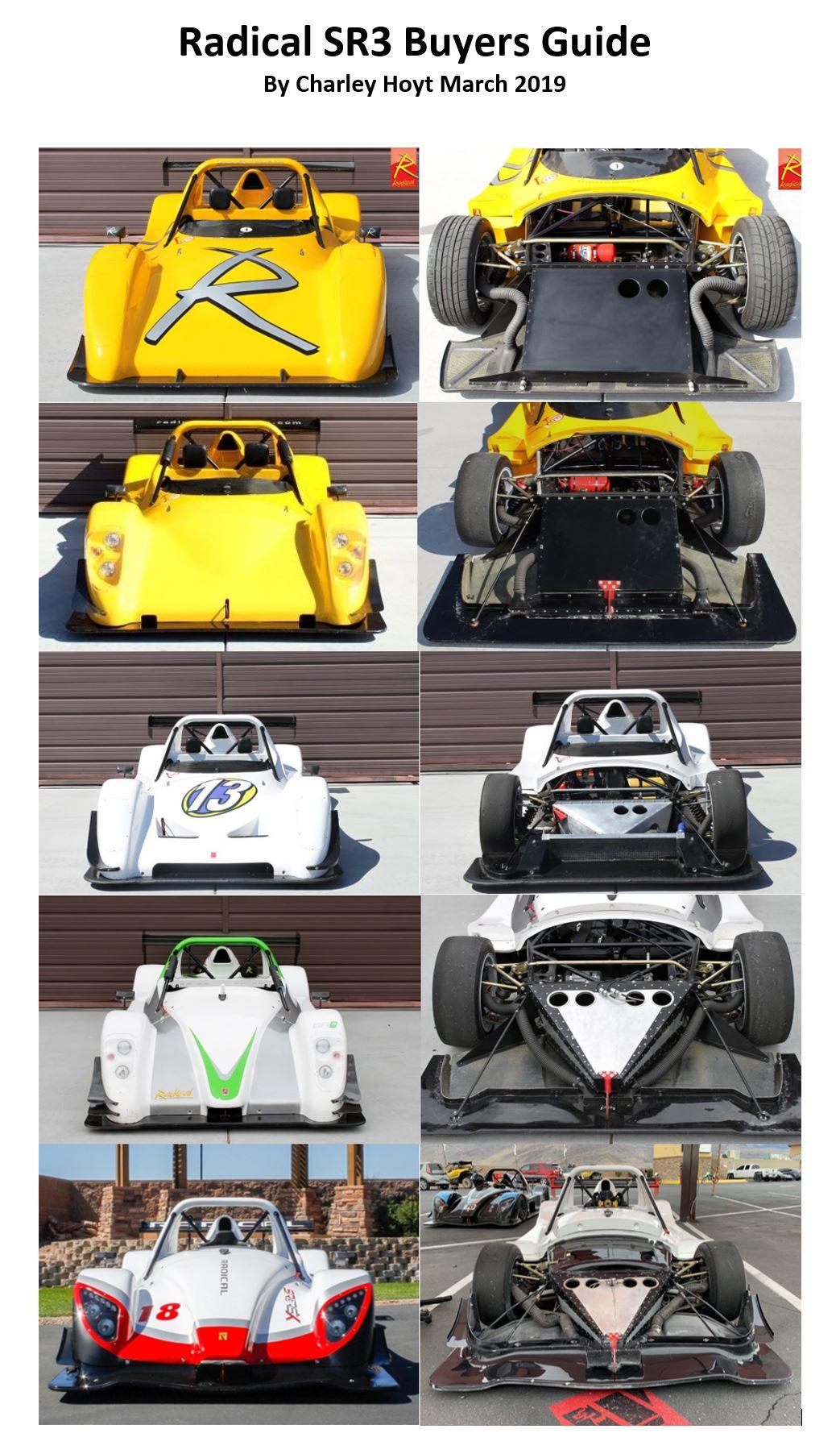 Radical SR3 Buyers Guide – Radical Sportscar Registry