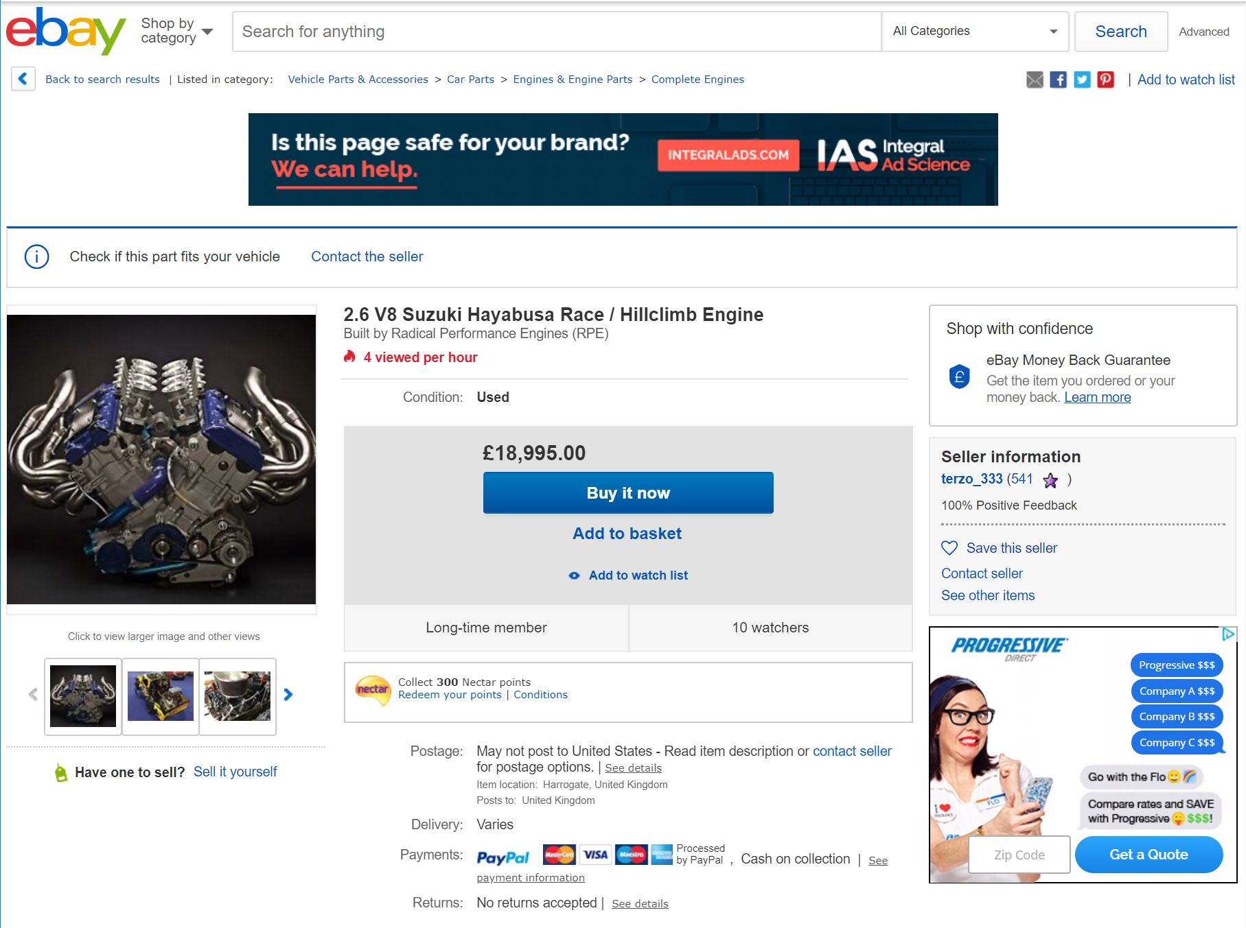 2 6 V8 RPE Hayabusa for sale – Radical Parts For Sale / Wanted